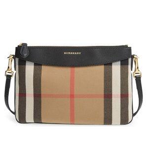 Burberry House Check Peyton crossbody/shoulder bag